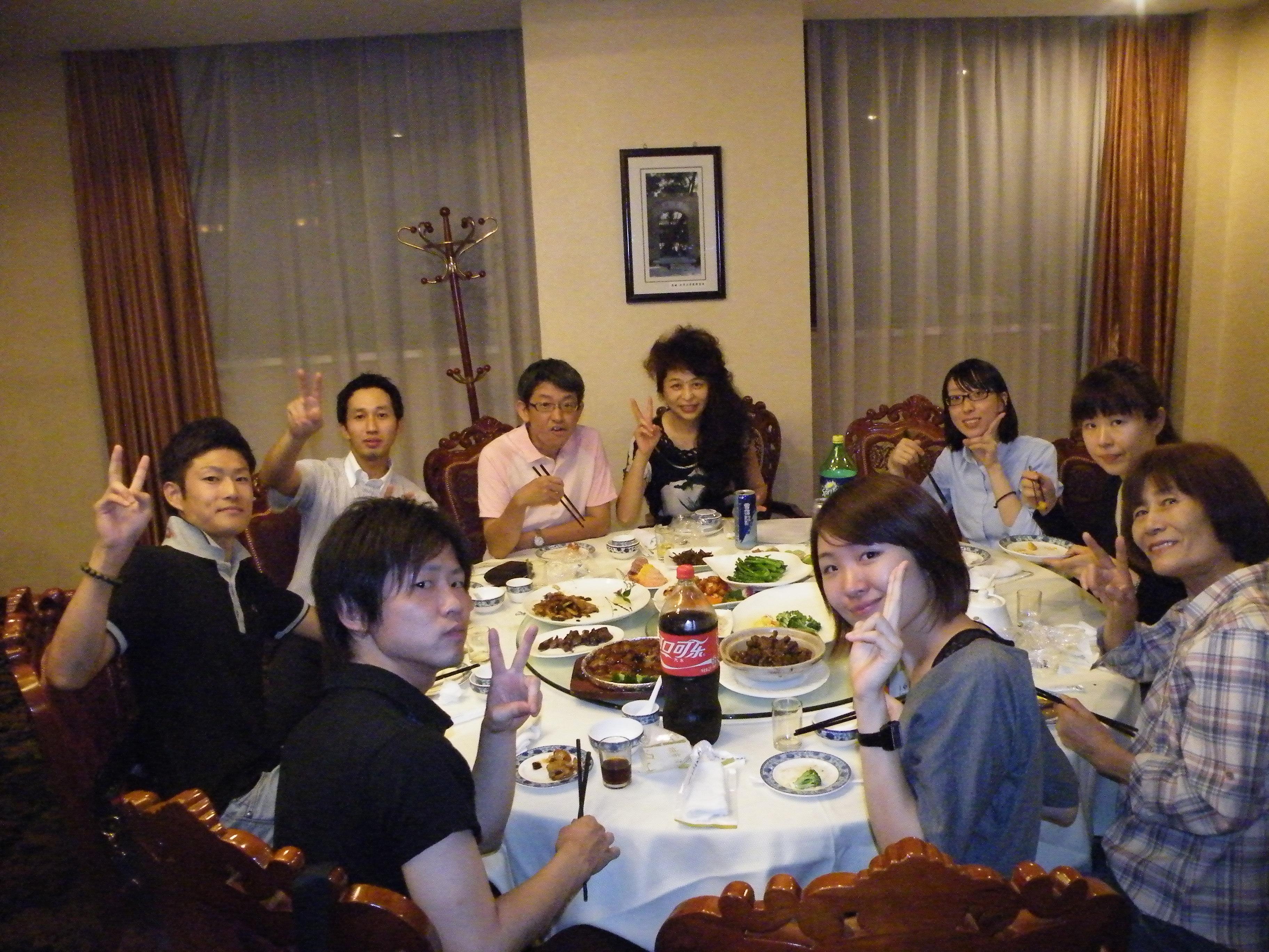 歓迎夕食会